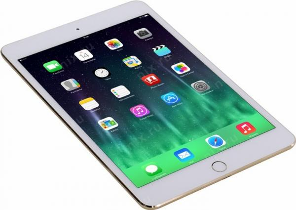 Apple iPad mini 4 Wi-Fi Cellular 16GB  (MK712RU/A)