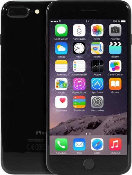 Смартфон Apple iPhone 7 Plus 32GB Jet Black (MQU72RU/A)