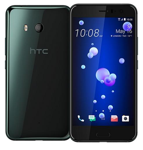 Смартфон HTC U11 128Gb Brilliant Black (99HAMB123-00)