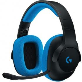 Гарнитура Logitech G233 Prodigy Wired Gaming Headset Black/Cyan (981-000703)
